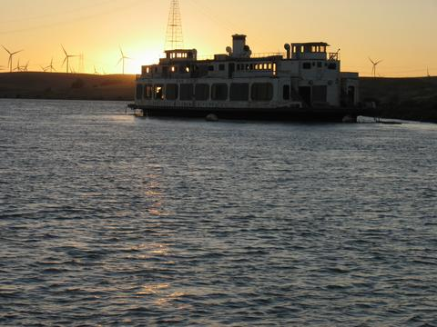 The Old Ferry and our Surrealist Sunset...