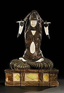 Chiparus' Shiva Statue