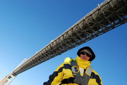 Dena and the Chesapeake Bay Bridge