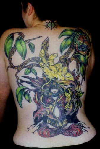My back, complete
