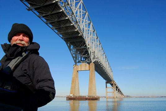 James and the Francis Scott Key Bridge