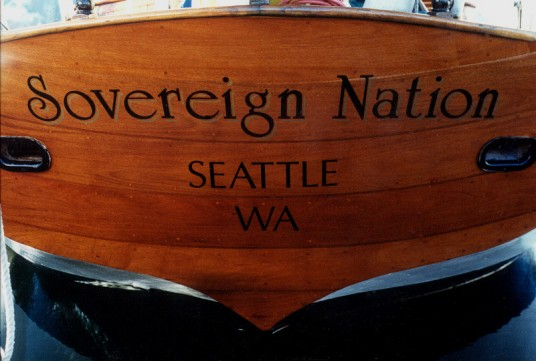 S/V Sovereign Nation in 2000